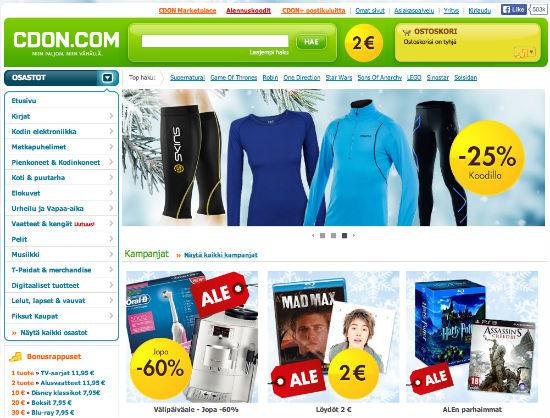 CDON.comista elektroniikka tuotteet helposti ja nopeasti
