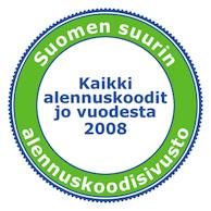 Alennuskoodi.fi on Suomen suurin ja vanhin alennuskoodisivusto